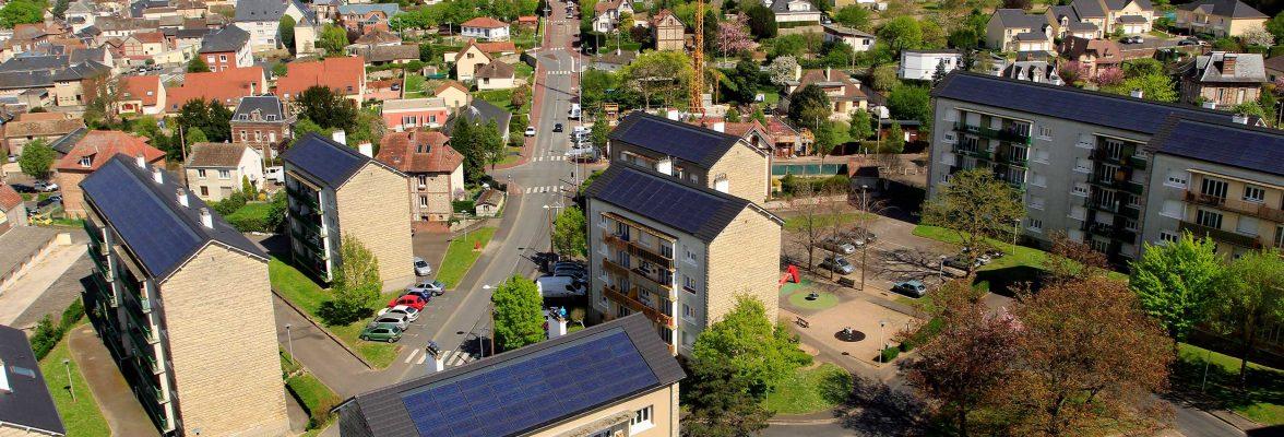 Fin d'une série de réhabilitations énergétiques habitat 76